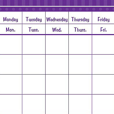 Calendar Grids