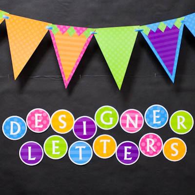 Designer Letters